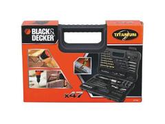 Jogo para Furar e Parafusar Black & Decker 47 Peças - 2