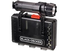 Conjunto Parafusar com Lanterna Black & Decker 30 Peças - 1