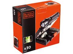 Conjunto Parafusar com Lanterna Black & Decker 30 Peças - 3