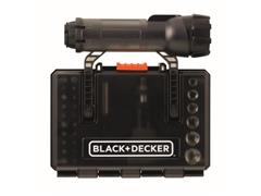Conjunto para Parafusar 30 Peças com Lanterna A7224-XJ BLACK+DECKER - 1