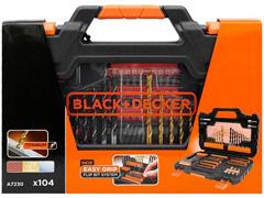 Jogo para Furar e Parafusar Black & Decker 104 Peças - 2