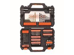 Kit de Furar e Parafusar com Maleta 104 Peças A7230-XJ BLACK+DECKER - 2