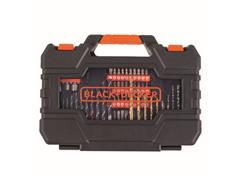 Kit de Furar e Parafusar com Maleta 104 Peças A7230-XJ BLACK+DECKER - 3
