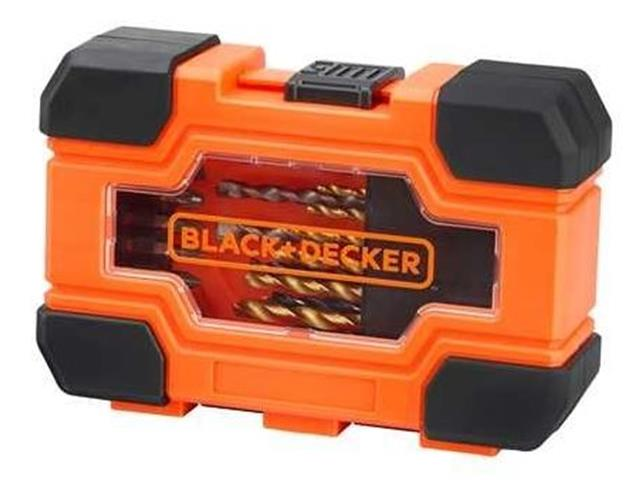 Jogo para Furar e Parafusar Black & Decker 27 Peças