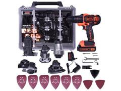 Parafusadeira 6 em 1 Matrix Black & Decker a Bateria de 20V