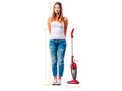 Aspirador WAP Clean Speed Vermelho 1000W - 6