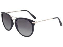 Óculos de Sol Colcci Linda Preto e Dourado com Lente Cinza