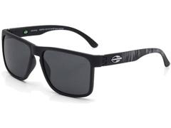 Óculos de Sol Mormaii Monterey Preto Fosco com Lente Cinza