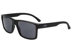 Óculos de Sol Mormaii Lagos Preto Fosco com Lente Cinza