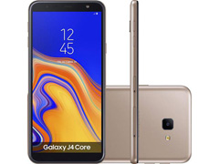 "Smartphone Samsung Galaxy J4 Core 16GB Duos 4G Tela 6"" Câm. 8MP Cobre"
