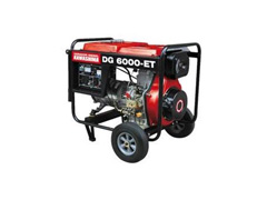 Gerador DG-6000ET Trif 220V  diesel 5,0kw  motor 406cc