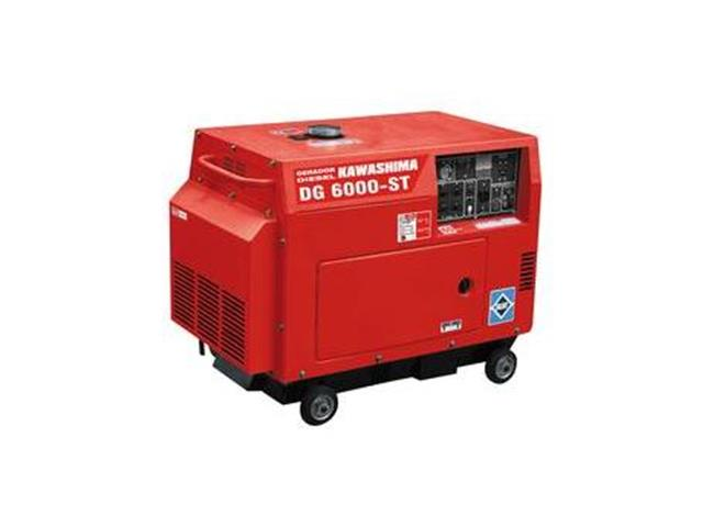 Gerador DG-6000ST-Trif 220V  fechado diesel 5,0kw