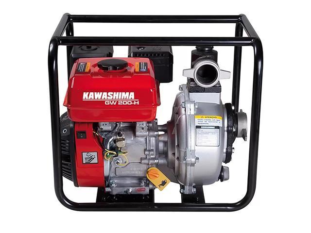 Motobomba Kawashima GW200-H Alta Pressão 2 gasolina 212cc