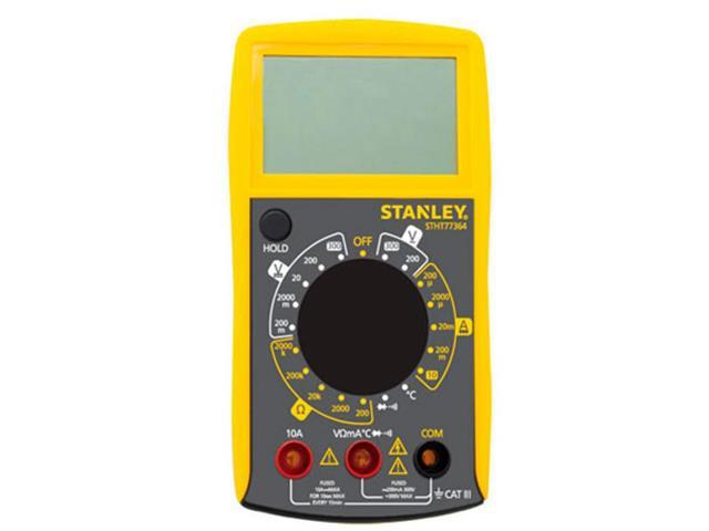 Multímetro Digital Stanley Portátil
