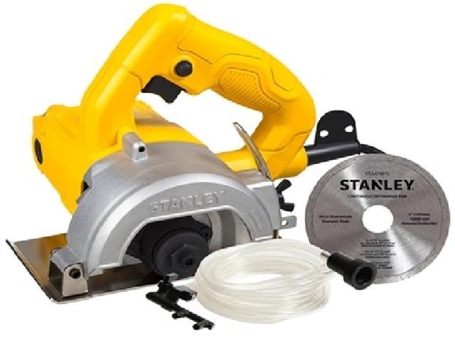 Serra Mármore 4.1/2 Pol. Stanley 1200W com Refrigeração e Disco