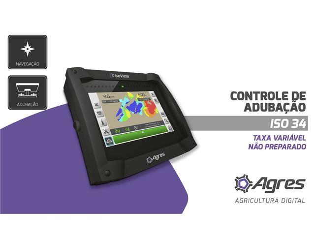 Kit ISO 34 Controle de  Adubação (taxa variável, não preperado) AGRES