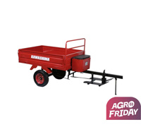 Carreta Agricola TC 300B Kawashima para Micro-Trator