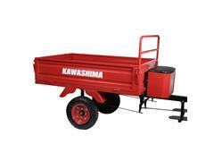 Carreta Agricola TC 300B Kawashima para Micro-Trator - 2