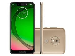 "Smartphone Motorola Moto G7 Play 32GB Dual Tela 5.7""Câm 13MP 4G Ouro - 0"