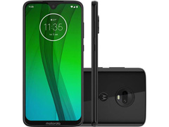 "Smartphone Motorola Moto G7 64GB 4GB Tela 6.2'"" Dual Câm 12 + 5MP Ônix - 0"