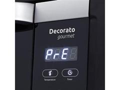Forno Elétrico Digital de Embutir Decorato Gourmet 44 Lts Preto - 3