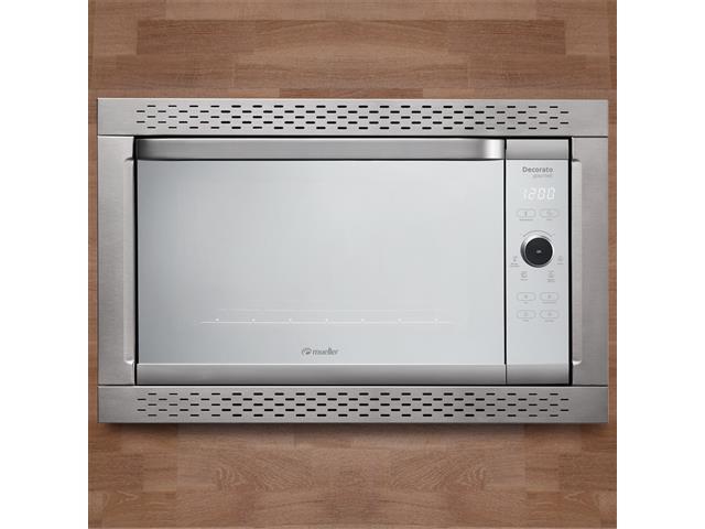 Forno Elétrico Digital de Embutir Decorato Gourmet 44 Lts Inox