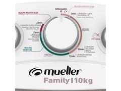 Lavadora Semiautomática Mueller Family com Aquatec Branca 10kg - 4