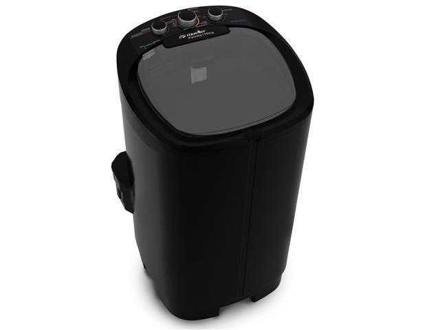 Lavadora Semiautomática Mueller Family com Aquatec Preta 10kg