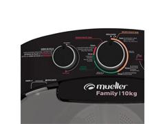Lavadora Semiautomática Mueller Family com Aquatec Preta 10kg - 2
