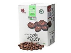 Café Orgânico Bela Época em Grãos 250g (12 unidades)