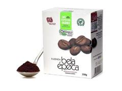 Café Orgânico Bela Época Torrado e Moído 250g (12 unidades) - 0