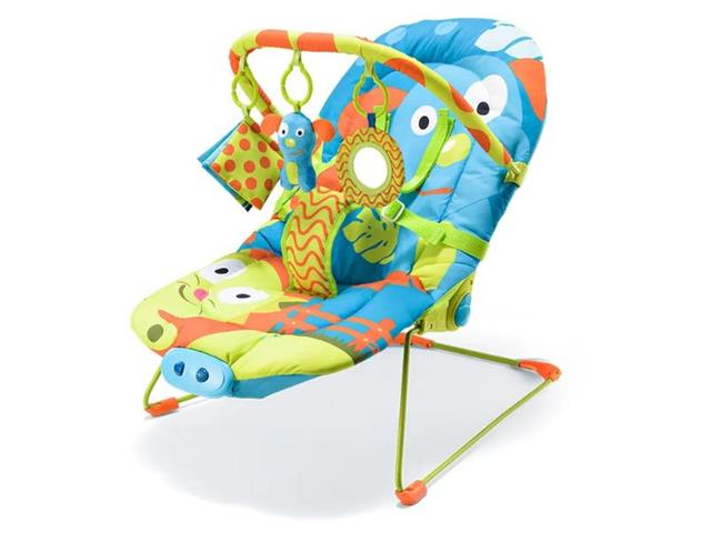 Cadeira de Descanso para Bebês Reclinável Multikids Baby Cachorrinhos