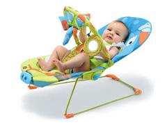 Cadeira de Descanso para Bebês Reclinável Multikids Baby Cachorrinhos - 3