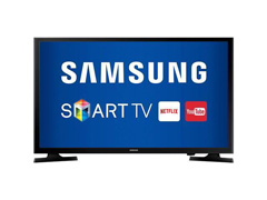 "Smart TV LED 32"" HDTV Samsung Conversor Digital 2 HDMI 1 USB Wi-Fi"