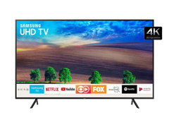"Smart TV LED 65"" Samsung Ultra HD 4K HDR c/Conv.TV Digital 3 HDMI 2USB"