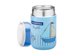 Pote Térmico Infantil Tramontina Le Petit para Alimentos Azul 400ml - 1