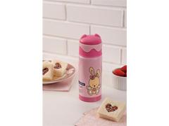 Garrafa Térmica Infantil Tramontina Le Petit  Rosa 350ml - 2