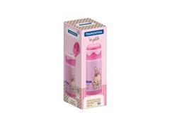 Garrafa Térmica Infantil Tramontina Le Petit  Rosa 350ml - 3