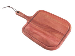 Tábua para Steak Tramontina com Cabo 40 x 27 cm