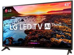 "Smart TV LED 43"" LG Full HD ThinQ AI TV HDR webOS 4.0 Wi-Fi 2HDMI 1USB - 1"