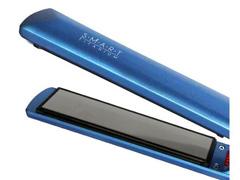 Prancha Alisadora Smart Titanium Lizz Professional 230°C Azul  - 1