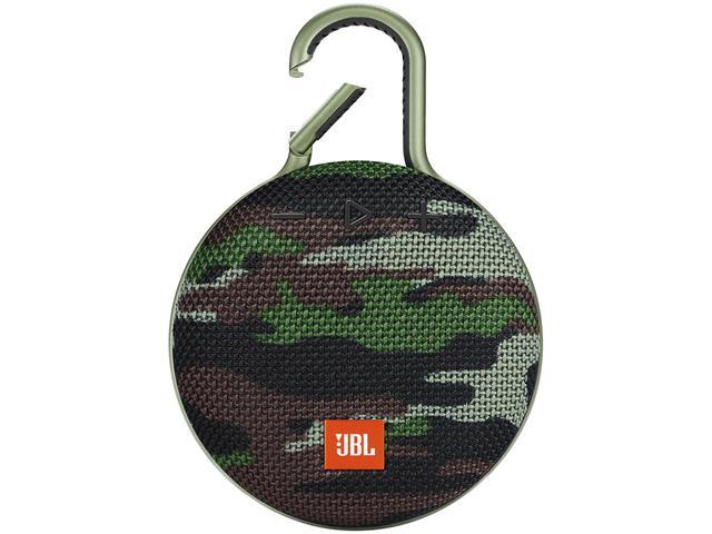 Caixa de Som Bluetooth JBL Clip 3 3,3W Camuflada