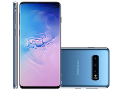 "Smartphone Samsung Galaxy S10 128GB Tela 6.1"" 8GB RAM 12+12+16MP Azul"