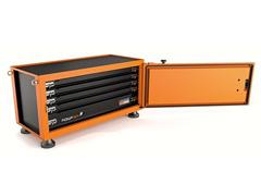 Caixa para Ferramentas Pickup Box Laranja Tramontina PRO - 1