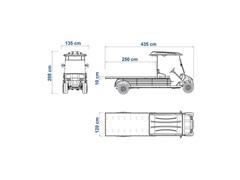 Veículo Utilitário Elétrico Elettro Tramontina 320PL AC 5KW 48V 6,7HP - 4