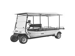 Veículo Utilitário Elétrico Elettro Tramontina 320PR AC 5KW 48V 6,7HP