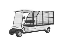 Veículo Utilitário Elétrico Elettro Tramontina 320CE AC 5KW 48V 6,7HP