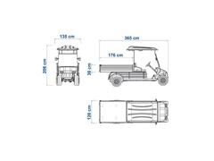 Veículo Utilitário Elétrico Elettro Tramontina 250CM AC 5KW 48V 6,7HP - 4