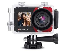 Câmera de Ação Xtrax com Visor Fronta Selfie 4K Preta