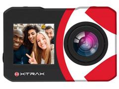 Câmera de Ação Xtrax com Visor Fronta Selfie 4K Preta - 1